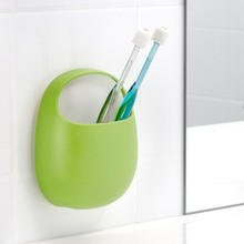 Plastic Wall Mount Toothbrush Holder