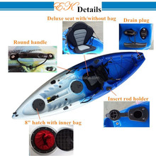 Professional china sea kayak with kayak accessories