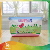 Customized Eco Beauty Laminated Non woven Cosmetic Makeup Bag