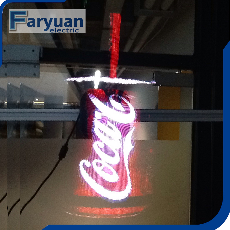 AD Player 3d hologram advertising indoor led display Customized