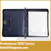 Ipad Padfolio Portfolio Case Notebook Organizer Leather