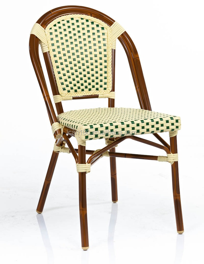 Outdoor stacking synthetic rattan bistro chairs buy synthetic rattan bistro chairs outdoor - Cane bistro chairs ...