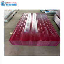 Prepainted Corrugated Metal Roofing Sheet With SGS Certification and ISO System