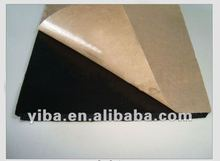 with self-adhesive PVC NBR rubber thermal insulation sheet