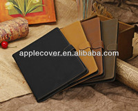 Hot selling Retro leather case for iPad air , for ipad air cover case , cover for tablet case