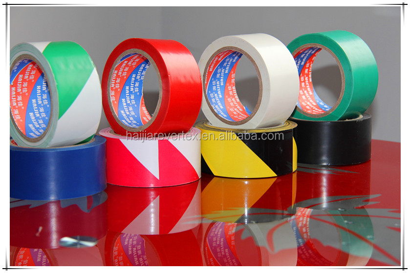 Barrier safety warning tape floor marking indentification tape