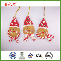 2014 promotion decoration resin Christmas Gingy ornament