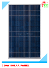 Taiwan material 60 cells 250wp solar pv module