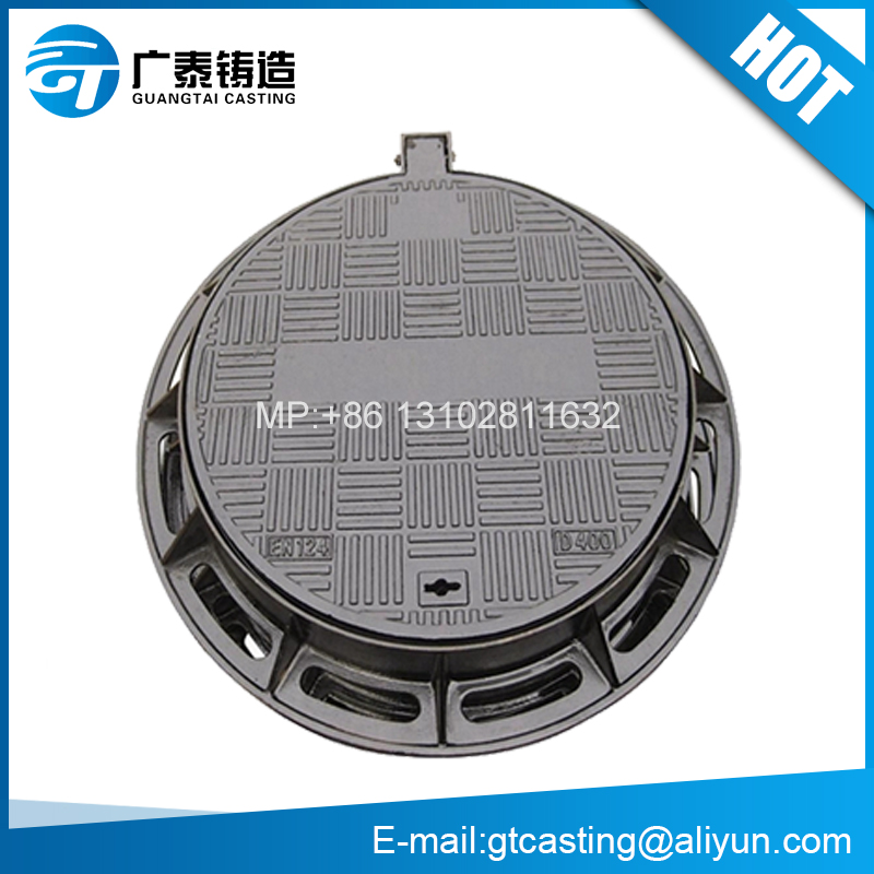Hot Sale Ductile/Cast Iron Manhole Cover en124 d400 Manufacturer