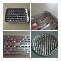 Pollution-free Convenient Best-Selling Sells Grill Disposable Aluminum Foil Grill Large Plate For BBQ Round Grill