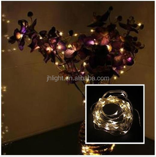 New Popular customized led large vine copper wire string lights/Vase vine decoration copper wire string fairy light indoor use
