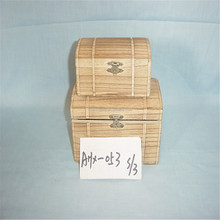 wholesale unfinished wooden trunk wooden box for home storage or gift packing