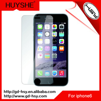 HUYSHE 0.33mm 9h tempered glass screen protector anti-scratch protective film for iphone6