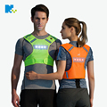 LED breathable apparel men and women cycling running riding clothing vest