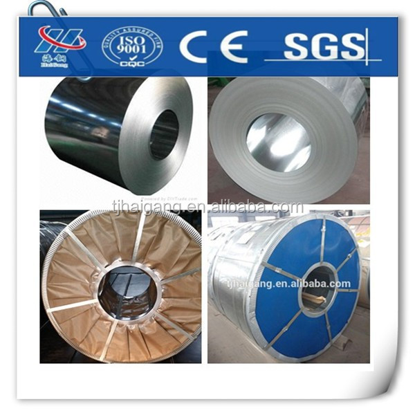 Tianjin Haigang hot-dip galvanized steel sheet in coils in good price
