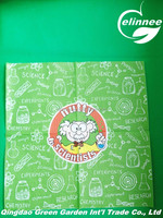 lovely cartoon design excellent quality printed paper napkins for party