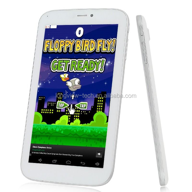 2 SIM slot 2G dual core 7 inch driver a23 mid android tablet wifi 512MB/4G BT