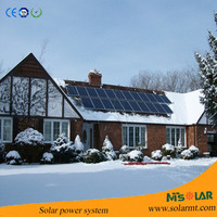Good Price Off Grid 10KW Home Solar System With Battery Backup,Energy Saving 5000w Solar Generator From Solar Panel Manufacture