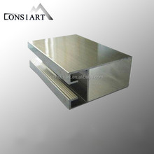 Constmart made in China extruded mirror aluminum profiles widly use