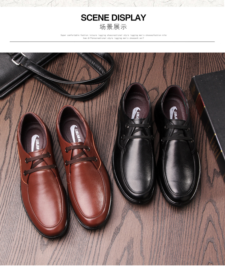 large stock high quality hardwearing latest oxfords class business men's laced shoes