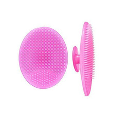 Anti-slip Pure Silicone Makeup Cleanner Precision Pore Cleansing Pad