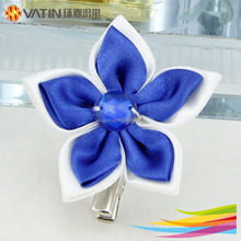 Girls women high quality flower brooch hair pin