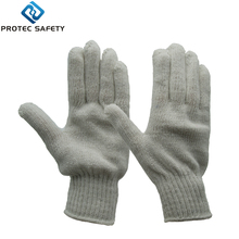 7G string knitted cotton safety working gloves