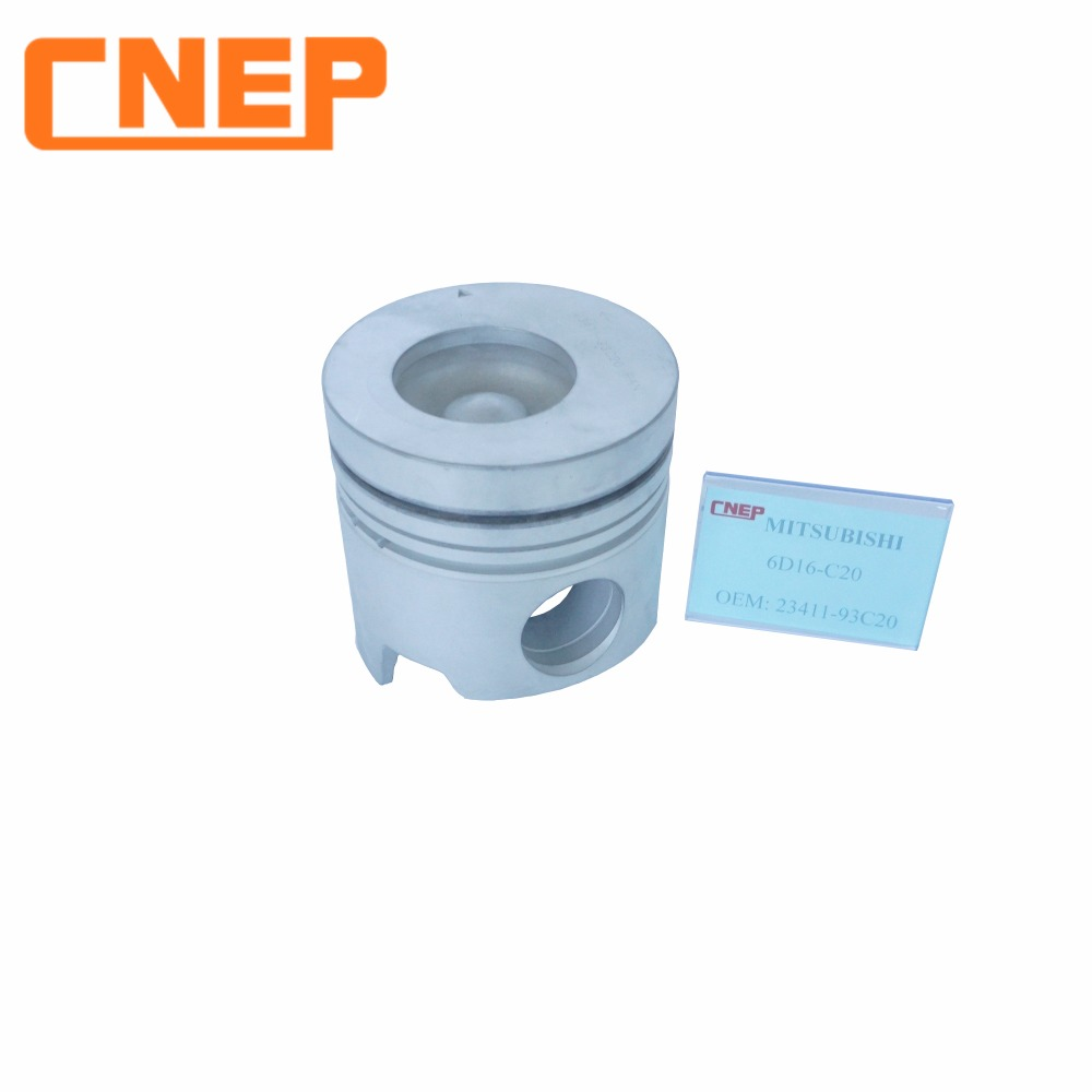 MITSUBISHI 6D16 hot selling diesel engines piston