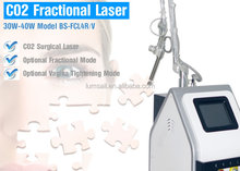 Anchorfree New Fractional CO2 Laser for Wrinkle Removal Skin Resurfacing