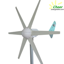 Iron tail horizontal axis 300w mini wind power generator