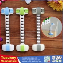 adhesive latch baby cabinet lock Baby Safety Latch door double lock