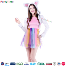 wholesale adult sexy women pink cosplay costumes new arrival bunny sexy costume