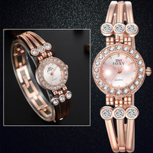 Best selling Cheap Fancy Beautiful Ladies Watch with Diamonds Bracelet Quartz Watch
