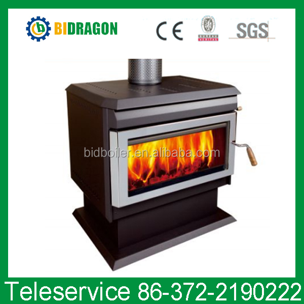 2017 latest European style wood burning stove on sale CE certificated