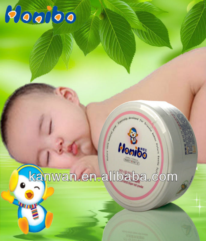 Natural herbal baby powder series 140g infant baby powder