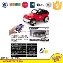 Mobile app bluetooth control jeep toys wifi remote control car