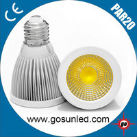 6W super bright 700lm par20 led ceiling spotlight