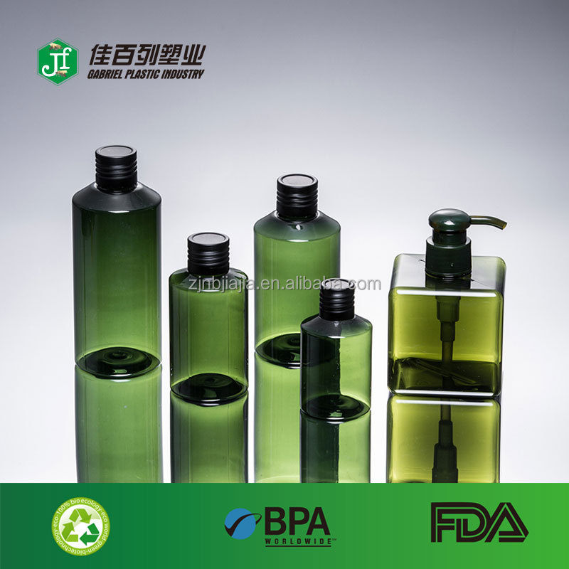 hot sale high quality 250ml olive color shampoo body lotion dish wash plastic spray <strong>bottle</strong>