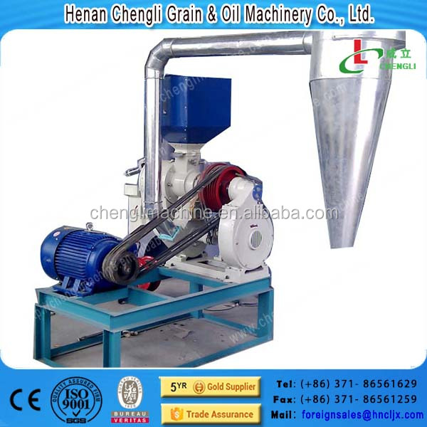 2016 Hot Sale small stainless steel human food maize corn rice grits peeling milling machine