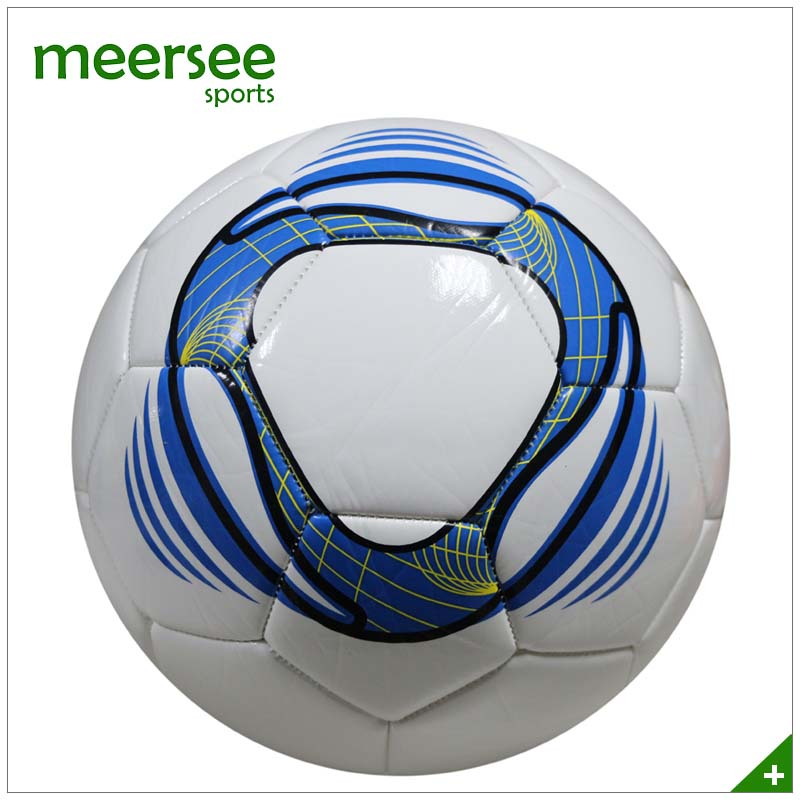 Meersee Branded Good Air Retention Machin sewn soccer ball training