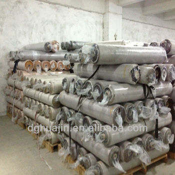 pu pvc space leather stock lot