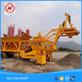 China famous brands direct sale mobile concrete batching plant