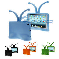 Grasshopper Self-Standing Fun Free-Standing Kid-friendly Foam Protective Case for iPad mini