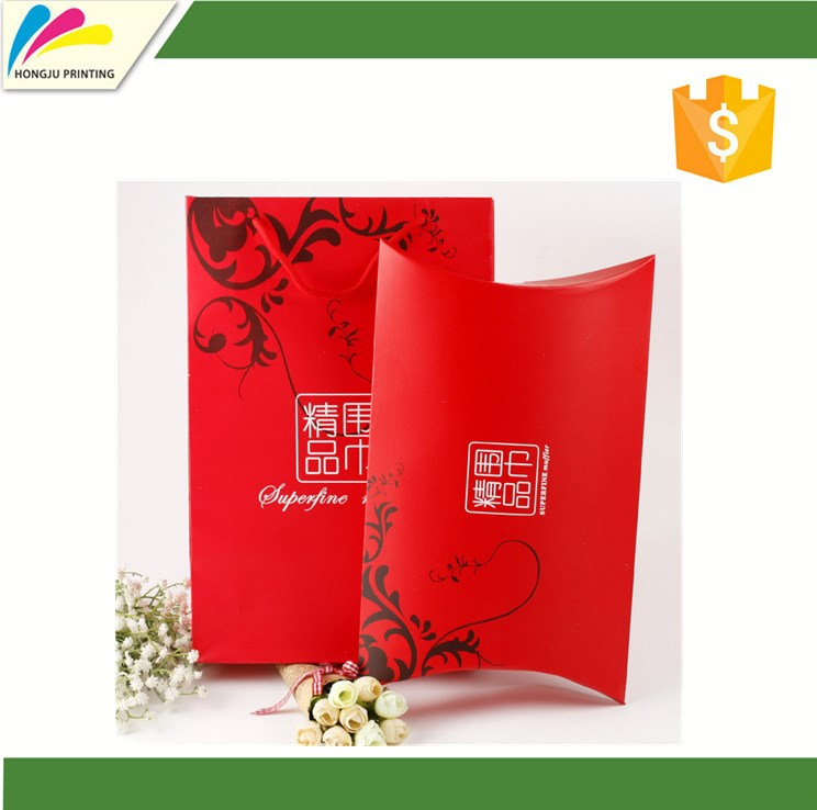 New model customized printing paper wedding favor gift box white blue yellow red green full colors