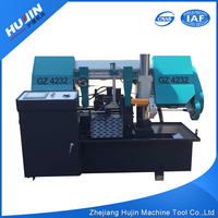 China Manufacturer High Precision CNC Auto Band Saw Processing Machine for Cutting Metal