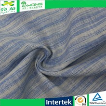 Fashion color space dye cotton linen fabric for shirting