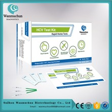 Hot sell hcv/hev/hav accutrend test strips FDA cleared CE mark
