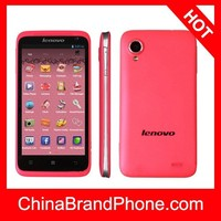 Original Lenovo S720 4GB 4.5 inch IPS Capacitive 5-point Multi-touch Screen Android OS 4.0 Smart Phone, MT6577 Dual Core 1.0GHz