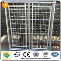 Alibaba Powder Coating Metal Strong Dog Kennels Dog Cages Huilong factory