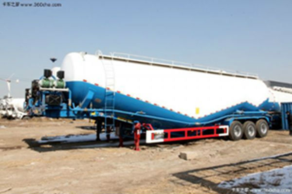 30-50ton 3 axles dry bulk cement tank semi trailer for sale
